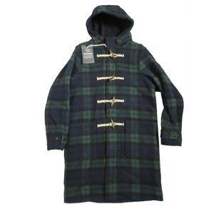 ABERCROMBIE & FITCH Italian Wool-Blend Duffle Coat